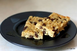 No-Bake Chocolate Chip Ganja Granola Bars