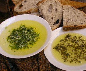 2-Step Ganja Oil Bread Dip