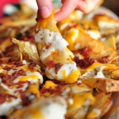 Chronic Cheesy Potato Fries