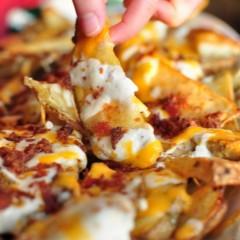 Chronic Cheesy Potato Fries