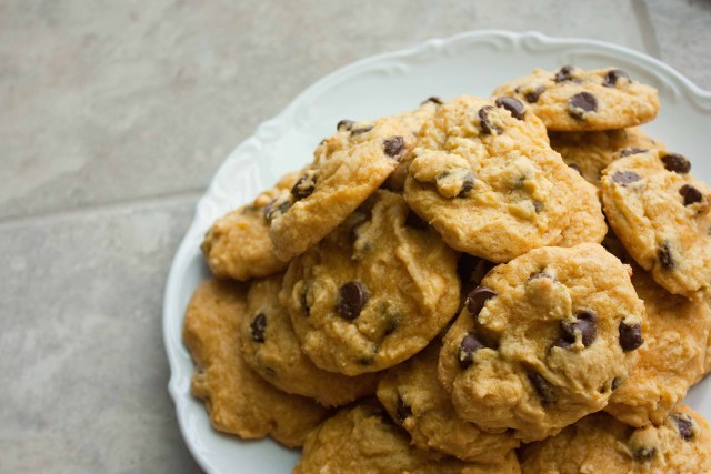 ... pot pumpkin chocolate chip cookies are just the thing to warm you up