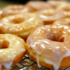 Homemade Medicated Krispy Kreme Doughnuts