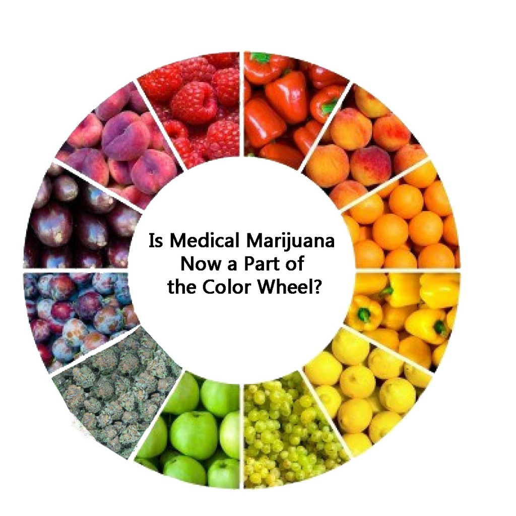 Is Medical Marijuana now part of the color wheel?