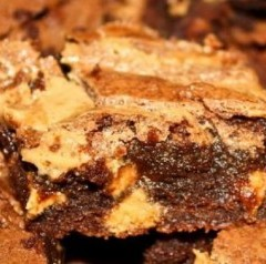 Peanut Butter Blasted Brownies