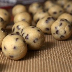 Cannabis Chocolate Chip Cookie Dough Truffles