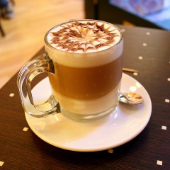 Café Mocha Medicated Latte