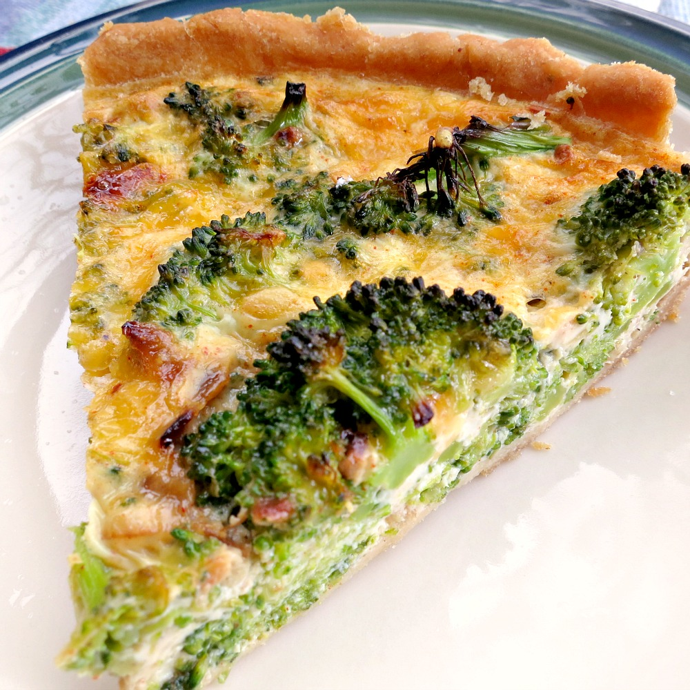 Cannabis & Broccoli Quiche - E Marijuana Recipes