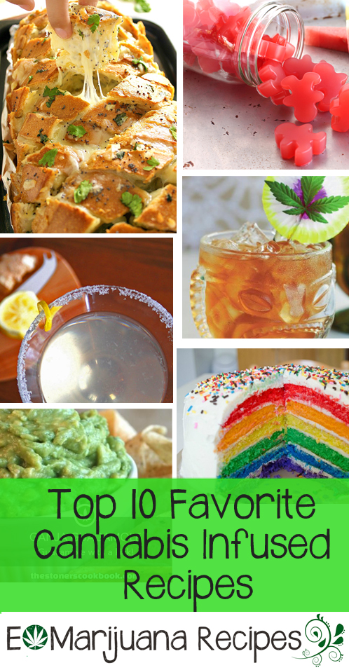 EMarijuana Recipes-Top 10 Favorite Cannabis Infused Recipes