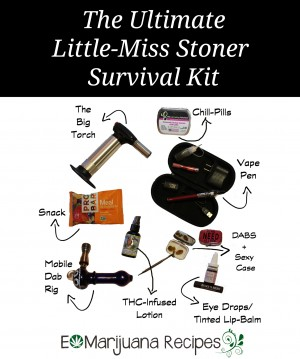 The Ultimate Little-Miss Stoner Survival Kit