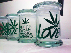 Weed Stash Jar
