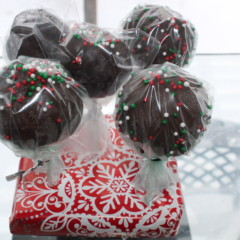 Chocolate Pot Cake Pops